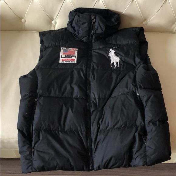 a1260bec8 Ralph Lauren Jackets & Coats | Polo Red Alpine Ski Goose Down Vest ...